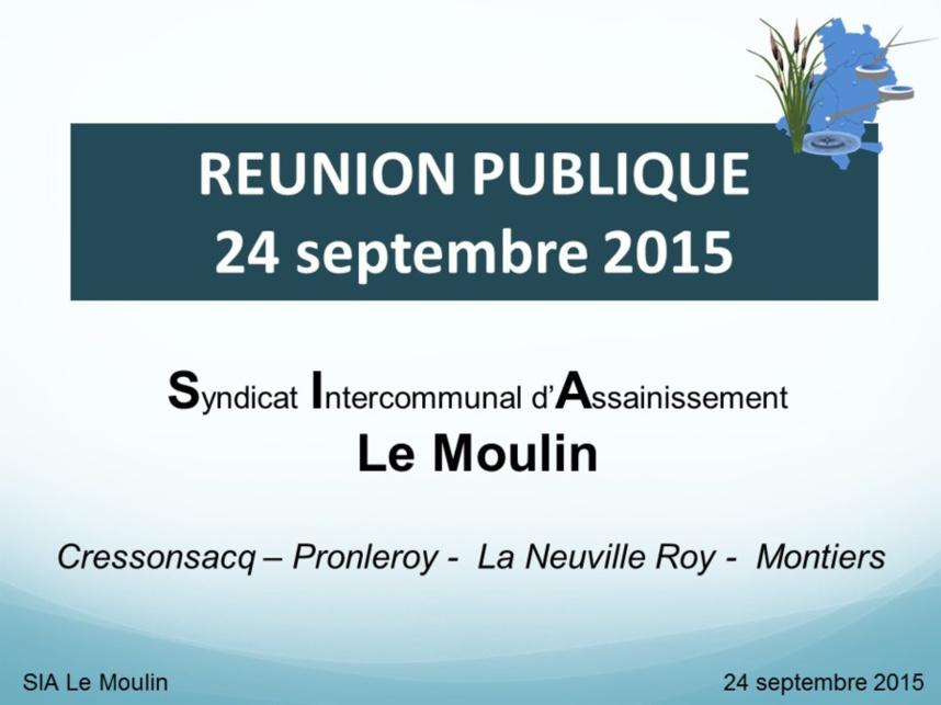 Réunion publique du 24 septembre 2015