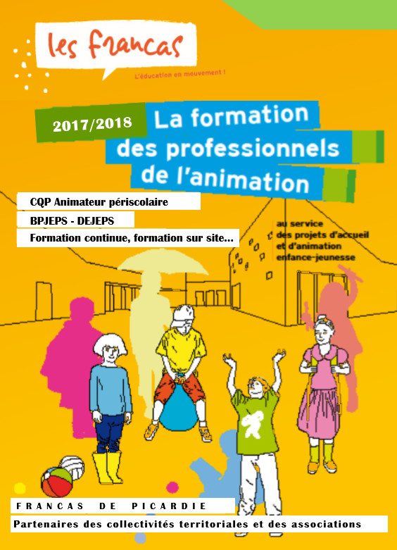 Formations des Professionnels de l'Animation 2017 / 2018