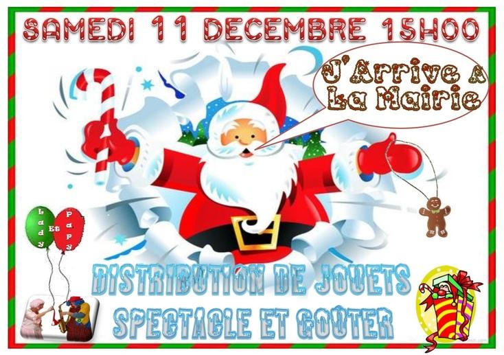 Le Père Noël arrive !!!!
