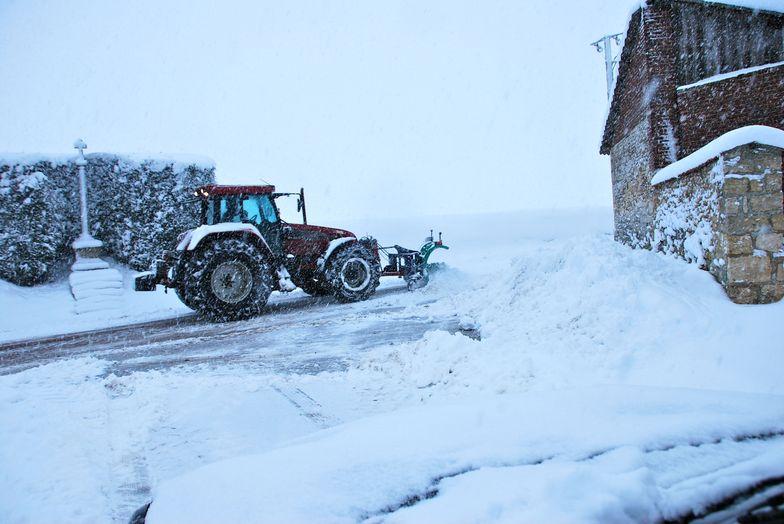 Equipé pour lutter contre la neige