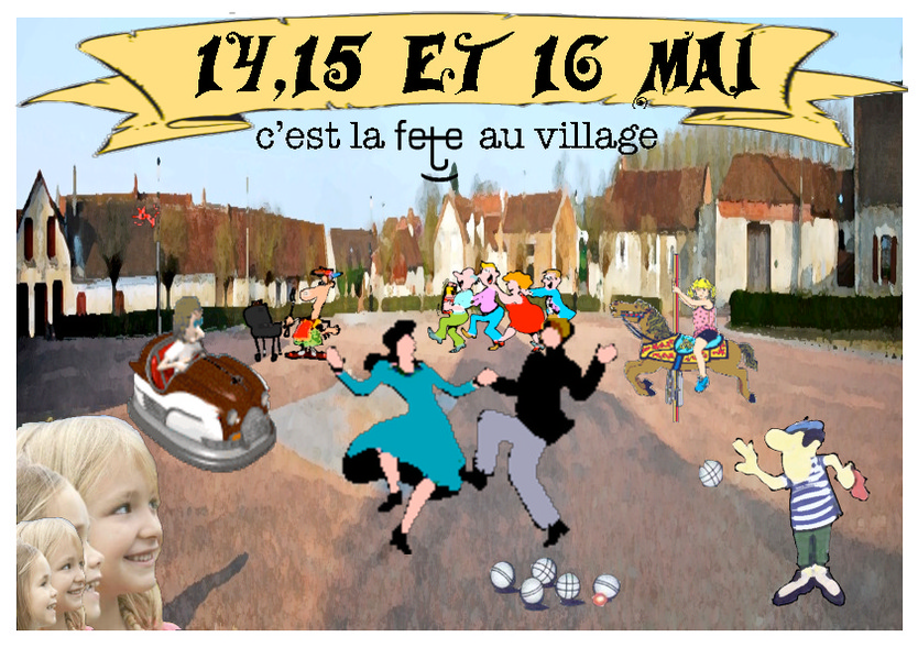 C'est la fête au village