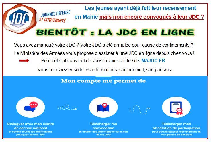 JDC.... bientôt en ligne