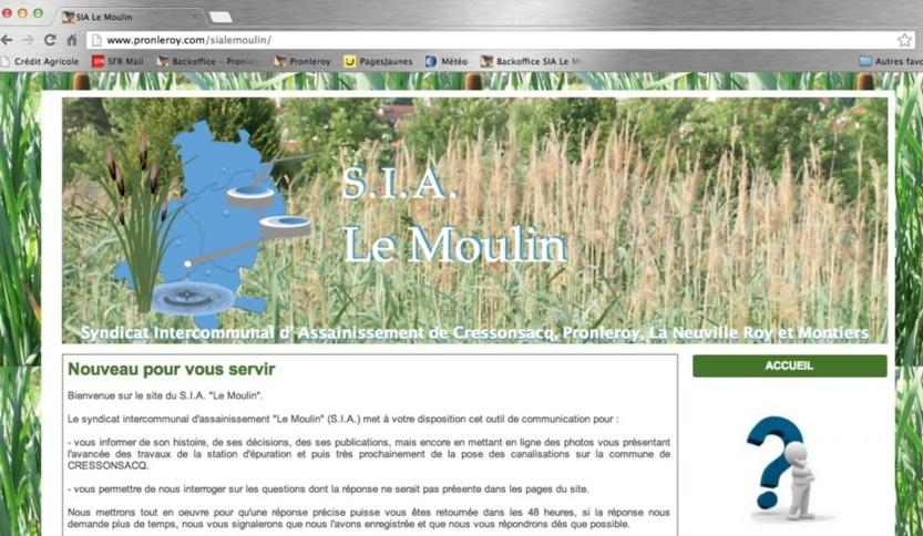 Accès au site du SIA Le Moulin