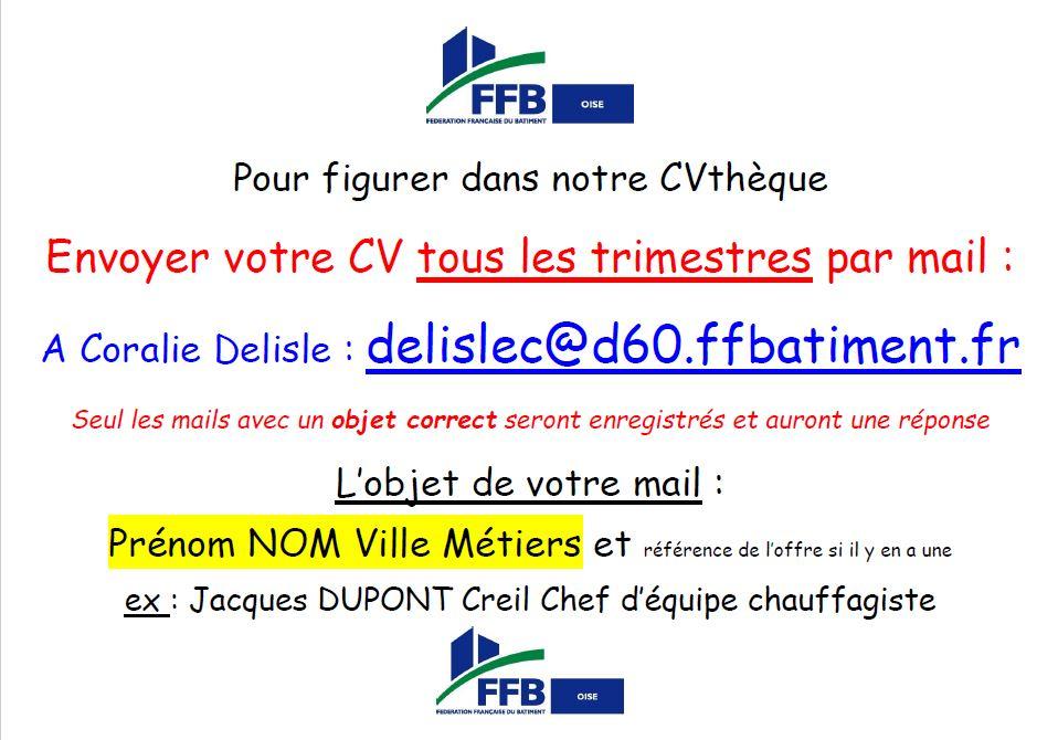 INFORMATION....Fédération Française du Bâtiment de l'Oise