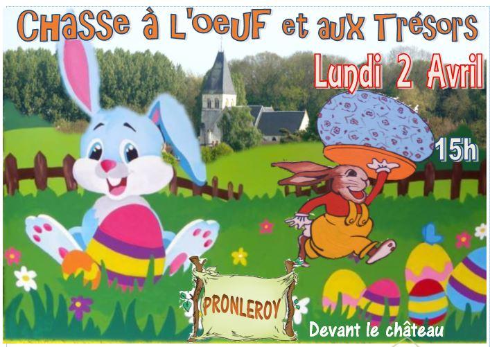 CHASSE à L'ŒUF......le 2 Avril