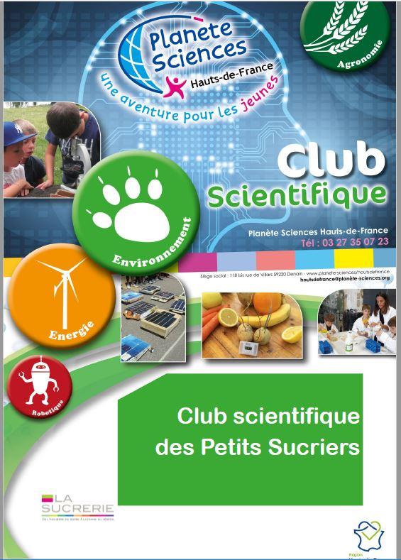 """Club Scientifique """" les petits sucriers"""""""
