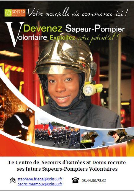 Recrutement de Sapeurs Pompiers Volontaires