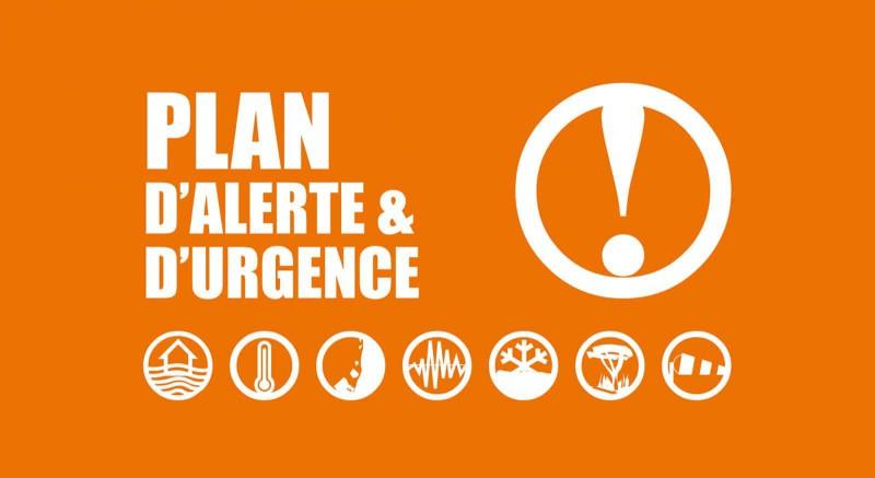 PLAN D'ALERTE et URGENCE