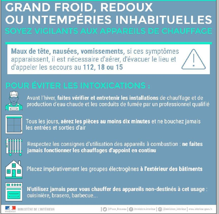 GRAND FROID....Comprendre et Agir