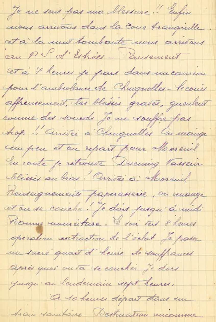 Fêtons le centenaire de 14-18: Journal d'un poilu